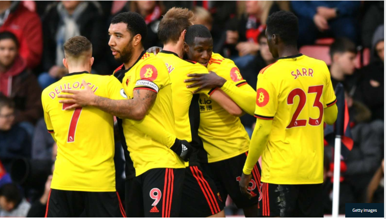 Watford confirmed three positive tests for coronavirus after the announcement of the Premier League