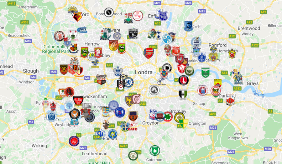 Football London: Which are the professional teams from the English capital