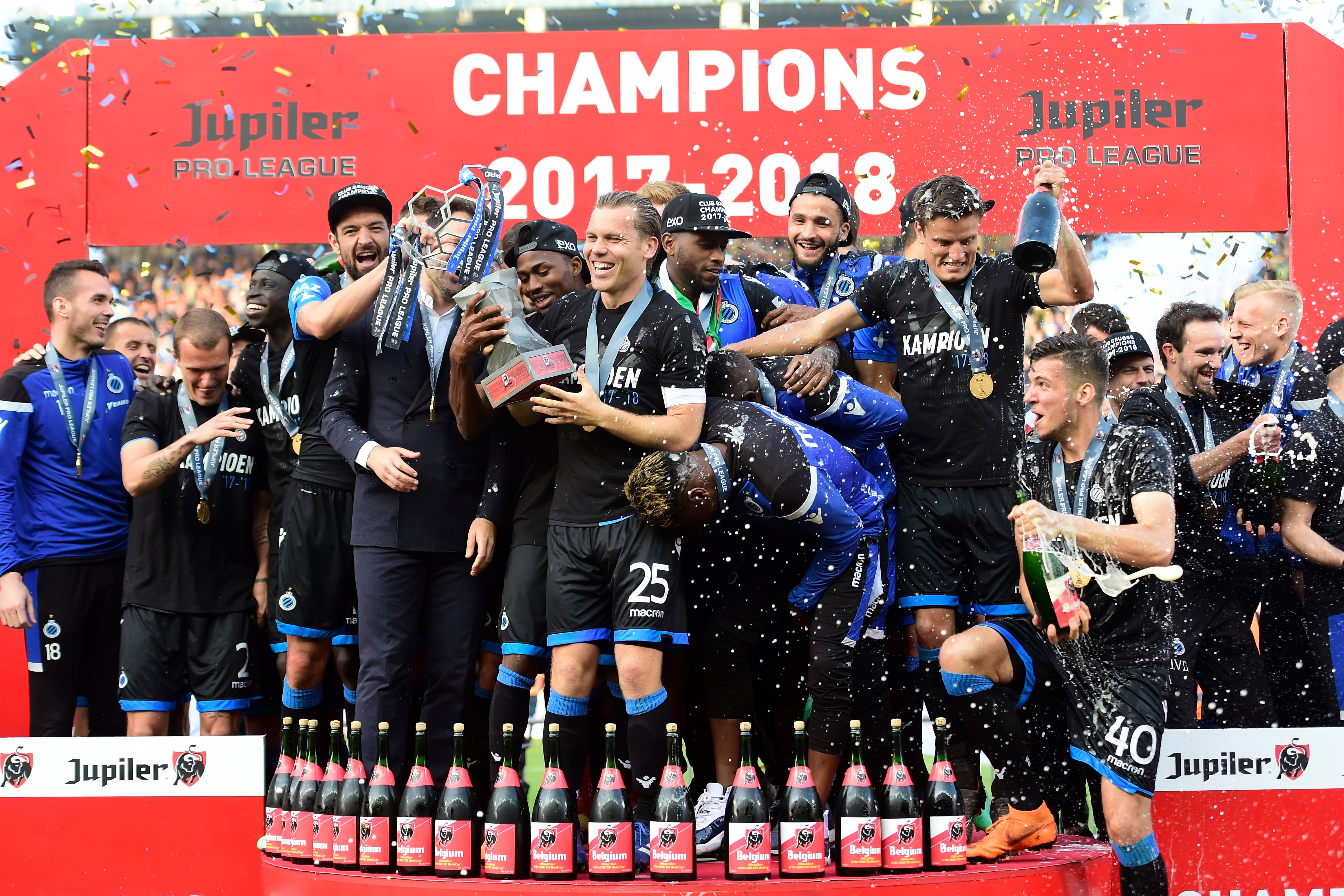 Club Brugge is the new champion of Belgium